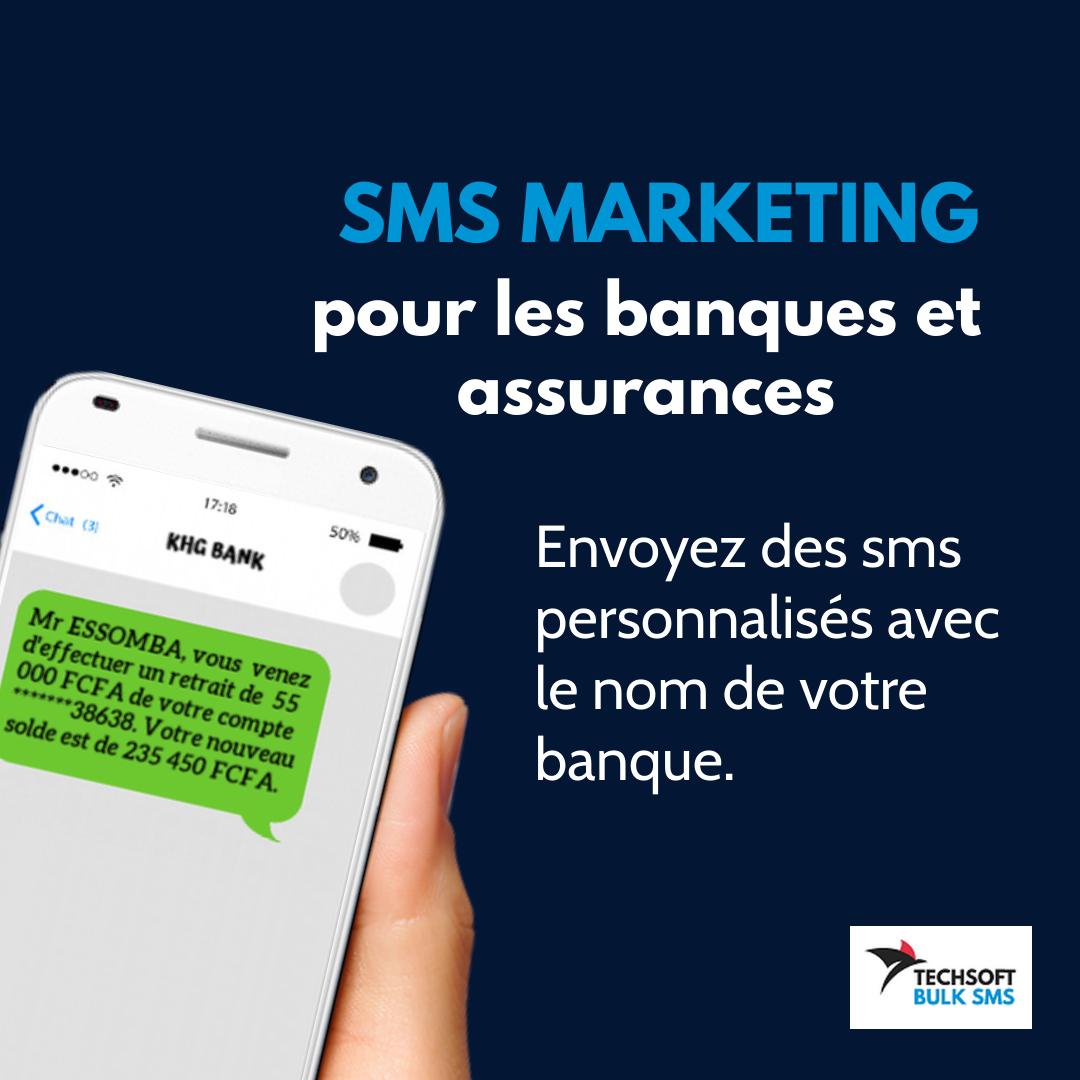bulk sms marketing Banques