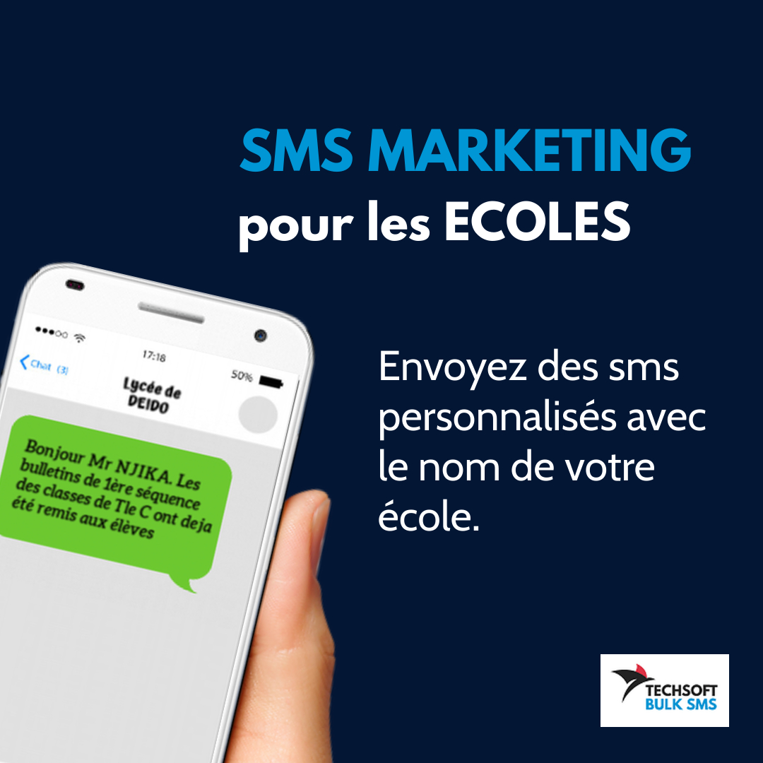 bulk sms marketing ecoles